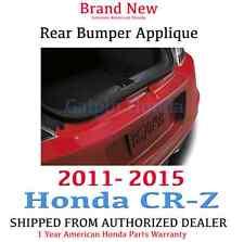 Genuine OEM Honda CR-Z Rear Bumper Applique