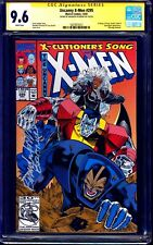 Uncanny X-Men #295 CGC SS 9.6 signed Brandon Peterson X-CUTIONERS SONG NM 1992