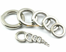 50 Pieces M12 304 Stainless Steel Spring Washer Split Lock Washer