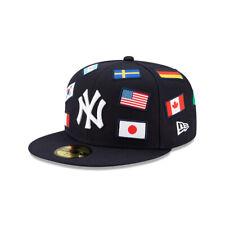 Мужчины New York Yankees MLB бейсбол новой эры ВМФ по всему флаг 59 пятьдесят на резинке шапка