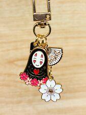 Spirited Away Sakura Kaonashi Metal Enamel Keychain