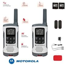 Motorola TALKABOUT T280 Walkie Talkie 25 Mile Range W/ Carry Case, Charger, Clip
