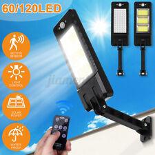 900000LM Solar Street Light LED Dusk-to-Dawn Area Road Spotlight Outdoor IP67