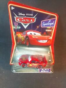Disney Pixar World Of Cars Bug Mouth Lightning McQueen Die Cast Toy Car NEW