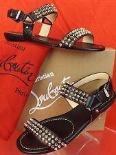 christian louboutin blanca gladiator sandal