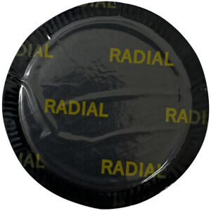 """(30) Medium Round 2 1/2"""" (55 MM) Double Rubber Radial Tire Repair Patch - USA"""