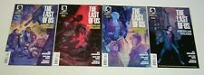 the Last of Us #1-4 complete series - all 1st prints - dark horse