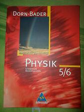 Dorn Bader Physik 5 / 6 Gymnasium Niedersachsen ISBN 9783507862319
