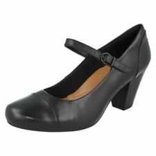 Clarks Damen-Pumps aus Echtleder in EUR 40