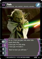 Star Wars TCG WOTC JG Jedi Guardians Complete FOIL Set NM/MINT 105 cards YODA D