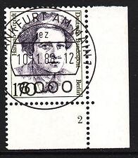32) Berlin 170 Pf Frauen 826 FN 2 Formnummer Ecke 4 EST FFM mit Gummi RAR!