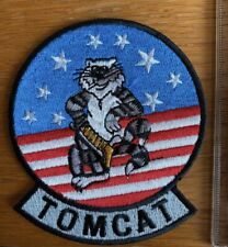 Patch Tomcat Grey Tab Top Gun