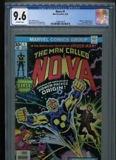 Nova #1 (1976) CGC 9.6 OFF-WHITE pages (Origin & 1st appearance of Nova!)