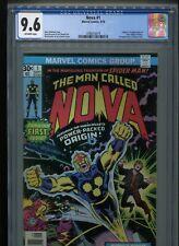 Nova #1 (1976) CGC 9.6 OFF-WHITE pages (Origin & 1st appearance of Nova!)