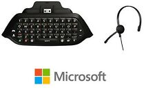 Official Xbox One Chatpad + Chat Headset (plugs directly into Chatpad) NEW