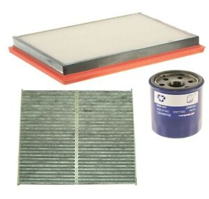 Engine Paper Oil Air Carbon Cabin Filter Kit ACDelco PRO For FX50 QX70 5.0L V8