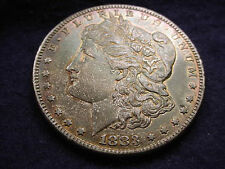 1883-S MORGAN DOLLAR INCREDIBLY TONED KEY DATE COIN WITH ORIGINAL LUSTER!   #140