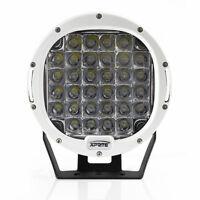 "Xprite White 9 "" 96W Driving Spot Cree LED Work Light Offroad Round Lamp for utv"