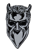 Trick or Treat Ghost Nameless Ghoul Satanic Metal Music Band Enamel Pin BXGM100