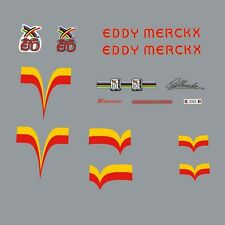 Eddy Merckx 10th Anniversary Bicycle Decals, Transfers, Stickers n.900