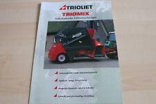 128237) Trioliet Futtermischwagen Triomix Prospekt 1999