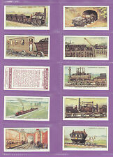 Railway/Trains Collectable Churchman Cigarette Cards
