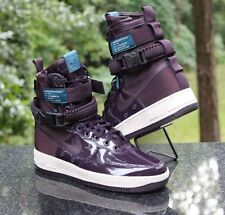 reputable site a68c2 6ddbd Nike Women s Special Field Air Force 1 Premium Port Wine AJ0963-600 Size 9