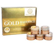 Khadi Natural Gold Radiance Mini Facial Kit 75gm Free Shipping