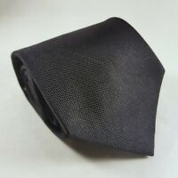 Merona Luxury Classic Neat Mens Silk Tie Black