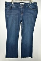 Torrid Relaxed Boot Cut Bootcut Stretch Jeans Womens Size 20R Blue Meas. 40x31