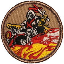 Cool Boy Scout Patrol Patch! - #504 The Knight Rider Patrol!
