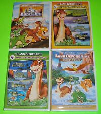 Kid DVD Lot - The Land Before Time (Used) II-IX (New) Journey of the Brave (New)