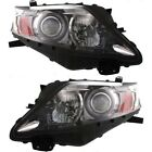 Headlight Set For 2010-2012 Lexus RX350 Canada Built Left and Right With Bulb