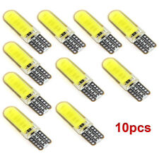 10pcs T10 W5W LED 6W Car Interior Light COB Bulb Wedge Parking Dome Light White