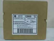 GE FLUORESCENT LAMPS ORDER CODE 12869 BASE G24q-2 BOX OF 10