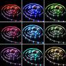 RGB LED Lichtleiste Farbwechsel, TV Hintergrundbeleuchtung Fernseher USB Theater