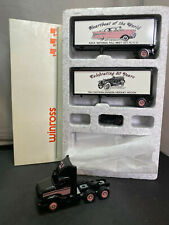 Winross AACA Fall Meet 1991 Tractor Truck With Trailer Doubles 1/64 Diecast