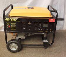 DEK 5650 GAS GENERATOR HEAVY DUTY POWER EQUIPMENT E15253-1 (JOO) LOC.FRONT