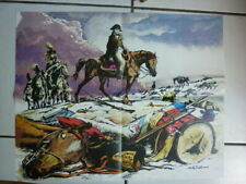HISTOIRE DE FRANCE EN BD  /  RARE POSTER DU TOMES  6 /  NAPOLEON DE  BUZZELLI