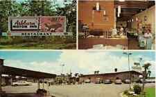 "Ashburn GA  ""The Ashburn Motor Inn & Honeybear Restaurant""  Postcard  Georgia"
