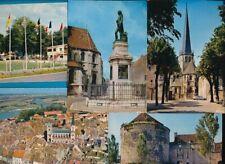 5 vintage ansichtkaarten AUXONNE, France