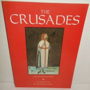 BOOK Osprey Elite # 19 The Crusades 1999 TRADE Ed op