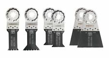 Fein 35222942080 Starlock Plus Best Oscillating E-cut Saw Blades Kit - 6pc New