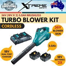 Makita 36V 5.0Ah Cordless 18V x 2 Batteries Brushless Compact Turbo Blower Kit
