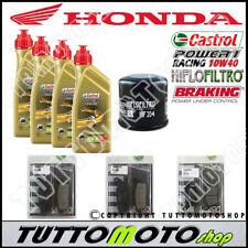 KIT TAGLIANDO HONDA CBR 600 F 2011 2012 2013 OLIO CASTROL FILTRO OLIO PASTIGLIE