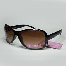 Foster Grant Women Sunglasses Brown 50mm  Lens Black Frame