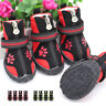 Anti Slip Pet Dog Shoes Waterproof Running Boots Paw Protector Reflective 5 Size