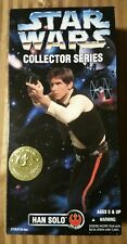 New Star Wars  Han Solo 12 In. Collector Series 1996 Kenner #27725-27723