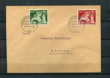 DT. Reich FDC No 816 - 817 Shipping Agency Berlin sw68 dated 8.8.42 (do-15)