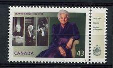 Canada 1994 SG#1582 Jeanne Sauve + Minister Tab MNH#A77320